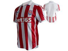 Macron Fußball-Trikot Stoke City FC H Jersey rot The Potter SCFC Fan-Shirt S- XL
