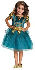 Merida Classic Child Girls Costume Disney Princess Brave Fancy Dress Halloween