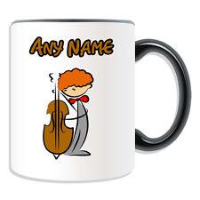 Personalised Gift Cello Mug Mug Money Box Cup Music Violinist Jazz Classical Tea