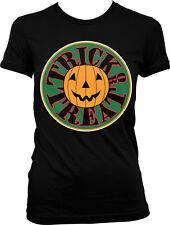 Trick or Treat Jack-o-Lantern - Happy Haloween  Juniors T-shirt