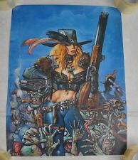 Fist Full of Blood Simon Bisley Heavy Metal Poster 18 x 24