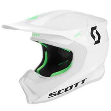 Scott 550 Hatch MX Enduro Motorrad Helm weiß/schwarz/grün 2019