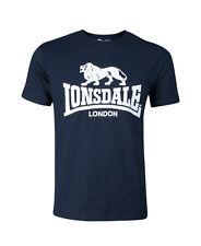 "Lonsdale londres t-shirt ""logotipo"" | Navy Blue (119083) ** sale **"