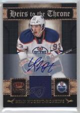 2011 Panini Crown Royale 23 Ryan Nugent-Hopkins Edmonton Oilers Auto Hockey Card