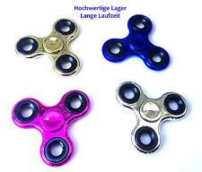 Figet Finger Hand Spinner Anti Stress Toy ADHS metallic versch Farben Focus