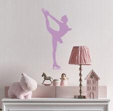 Sport Wall Decals Figure Skating Ice Dancing Vinyl Sticker Home Decor Kids ML131
