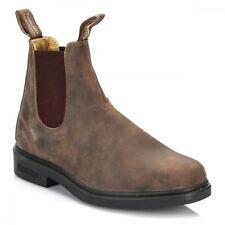 Blundstone Mens Brown Chelsea Dealer Slip On Ankle Boots Sizes UK 7-12 1306