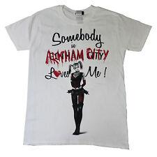 HARLEY Quinn UFFICIALE Qualcuno in Arkham SQUADRA suicida Unisex T-shirt fino a 2xl