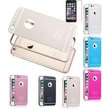Aluminium Bumper iPhone Samsung Huawei Schutz Hülle Alu Case Metall Rahmen Cover