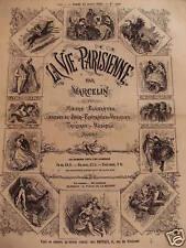 LA VIE PARISIENNE DU 26 MAI 1866 N° 21- Voir détails
