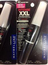 ( LOT OF 3 ) Maybelline XXL INTENSE Volume+Length Mascara BROWNISH BLACK #552.
