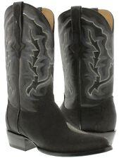 mens genuine stingray skin leather western cowboy boots crocodile rodeo round