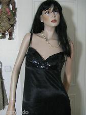 Georges Rech Abendkleid Gr. 38 schwarz Paris Luxus Kompliment an Ihren Körper