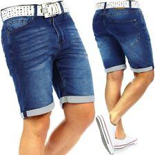 Urban Surface Herren Jogging Shorts Jogg Sport-hose Jeans Sweatpants Capri Hose