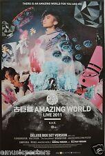 "LEO KU ""AMAZING WORLD LIVE TOUR 2011"" ASIAN PROMO POSTER - Cantopop"