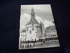 HOORN~HOLLAND~VVV TOURIST INFO + MAP~PLATTEGROND