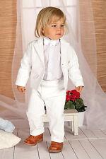 ABITO DA BATTESIMO maschietto vestito cerimonia VELLUTO bianco tg 62-92 cod 1259
