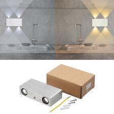 4W Led Wandlampe Modern Led Wandleuchte Flur Diele Up & Down Leuchte Wohn Zimmer