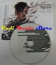 CD APOPTYGMA BERZERK In this together 2005 GUN RECORDS EU no mc lp dvd vhs (S10)