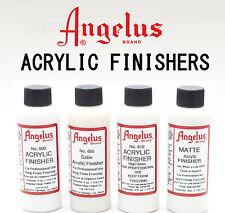 Angelus Finisher 118.2ml - Satin, Gloss, Matte Acrylic Finish for Leather Paint