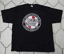 x 3 Auténtico HARLEY DAVIDSON Hombre Croacia Evento Camiseta XL XXL 3 THREE
