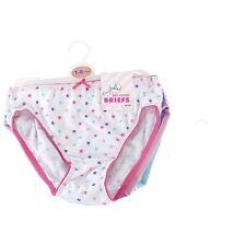Niña 100% Pantalones Algodón Braguitas Nuevo