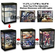 LED Desk Top Showcase for Hotwheels, Jada, Greenlights, Ironman, 1:24 1:18 1:64
