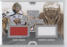 2012 In the Game Between Pipes Aspire Silver #ASP-14 David Honzik Roberto Luongo