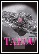 Tabou     Movie Posters Romance Classic & Vintage Cinema