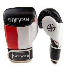Shinobi Samurai Boxing Gloves - Red/White/Black
