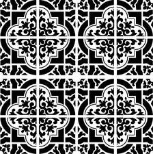 MAROCCAN Azulejo reutilizable Plantilla A3 A4 A5 Exótica Art Craft Hazlo tú mismo Estilo Oriental 2