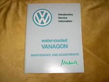 Service Maintenance VW Santana Fuel Injection 1983