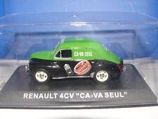 """RENAULT 4 CV """" CIRAGE CA-VA SEUL """" AU 1/43 ème"""