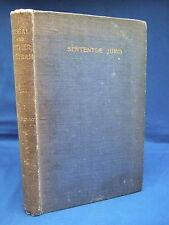 2896 Sententiae Juris - Legal & Other Epigram by William Holloway HB