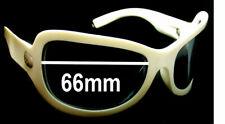 SFx Replacement Sunglass Lenses fits Spy Optics Bianca - 66mm wide