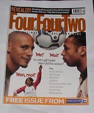 FOURFOURTWO MAGAZINE SEPTEMBER 2001 - RIO FERDINAND/THIERRY HENRY