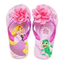 Disney Store Rapunzel & Pascal Flip Flops Girls Sandals 5/6 7/8 9/10 11/12 13/1