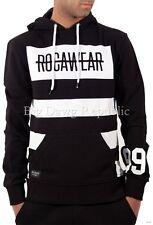 Rocawear Mens Boys Brooklyn Stripes Hoodie Overhead Sweatshirt Hip Hop R0030