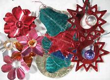 Large Lot of Christmas Stuff~1930's~Foil~Reflectors