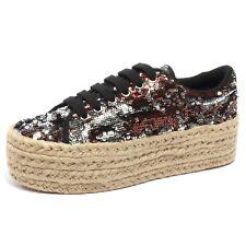 B2196 scarpa donna JEFFREY CAMPBELL  sneaker zeppa shoe woman