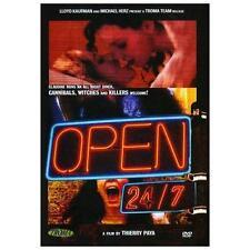 Open 24/7 DVD Troma Films Thierry Paya - NEW