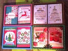 Luxus Weihnachtskarten - 10 Stück mit Umschlägen - Neujahr- /Weihnachtsgrüße NEU