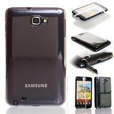 Crystal Clear Transparente De Plástico Atrás Funda Para Samsung Galaxy Note I9220