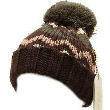 6091I cuffia bimbo marrone REGINA BY ANGELA MAFFEI cappelli hats kids