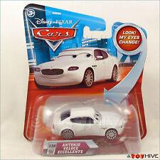 Disney Pixar Cars Antonio Veloce Eccellente #138 Eyes change lenticular series