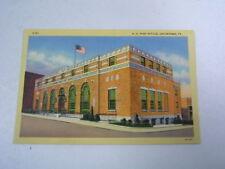 Postcard U.S. Post Office Uniontown Pennsylvania Unused