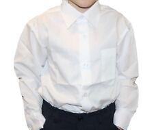 enfants garçons chemise chemisier de fête en coton mélange très classe (A)