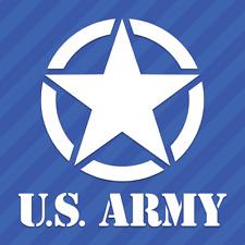Army Military Star Vinyl Decal Sticker