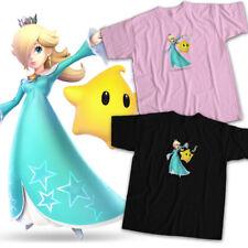 Super Smash Bros Ultimate Rosalina Luma Mario Galaxy Fighter Unisex Tee T-Shirt