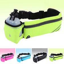 Water Bottle Waist Bag Running Belt Sport Adjustable Pouch Jogging Hydration